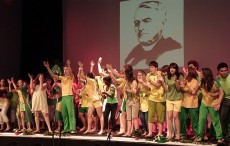 Students in France Present Imaginative Production to Mark d'Alzon Bicentennial