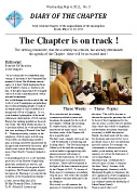 DIARY OF THE CHAPTER - May 4, 2011
