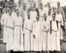 Photo of early Assumptionist Missionaries in the Congo