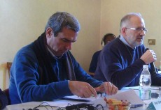 Prof. Gianni La Bella and Rev. Richard Lamoureux, AA