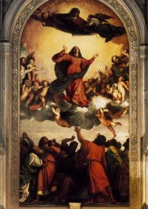The Assumption of the Blessed Virgin Mary by Titian