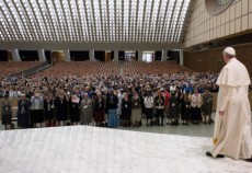 Pope Francis and Superiors General 2016