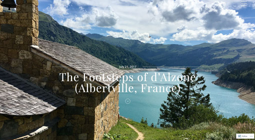 The Footsteps of d'Alzone