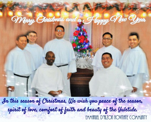 Greetings from Fr. Emmanuel d'Alzon Novitiate from Philippines