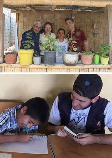 Alumnus Carries Assumption Mission to Ecuador