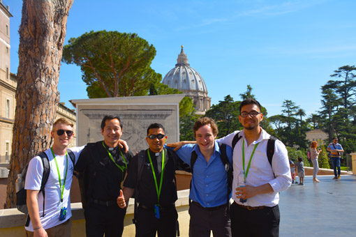 Greetings from Rome!