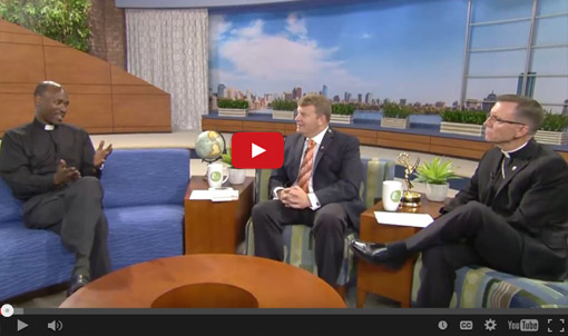 Father Simon Njuguna, AA, an Assumptionist priest from Kenya, talks about his congregation's work and charism on Catholic TV.