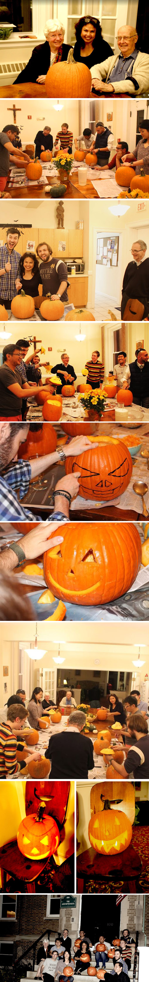 PUMPKIN CARVING PARTY AT THE CENTER