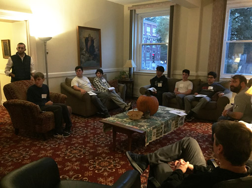 ST. JOHN'S PREP STUDENTS VISIT THE ASSUMPTIONIST CENTER