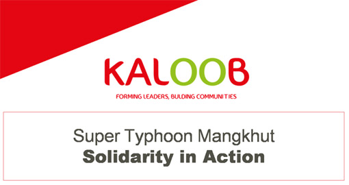 Super Typhoon Mangkhut - Solidarity in Action