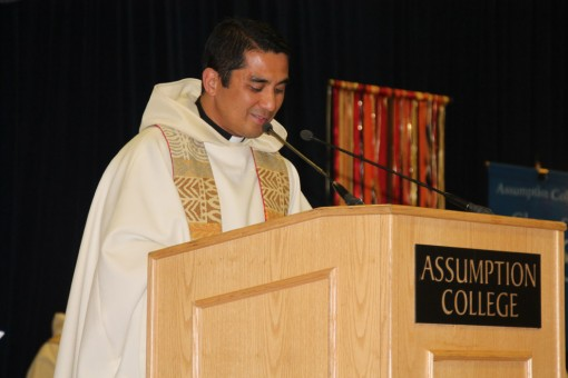 FR. RON, A.A.: BACCALAUREATE MASS HOMILY AT ASSUMPTION COLLEGE