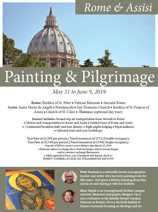 Painting Pilgrimage to Rome & Assisi
