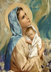 MARY, THE HOLY MOTHER OF GOD, pray for us...