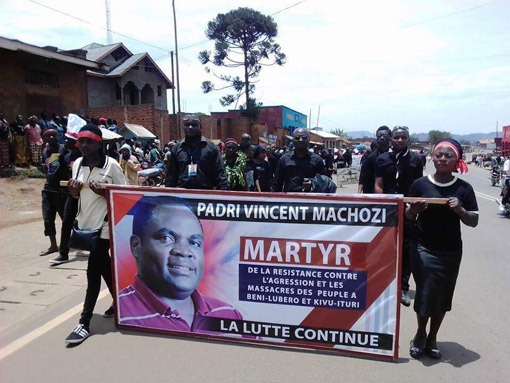 Fr. Machozi was killed on the night of March 20, 2016